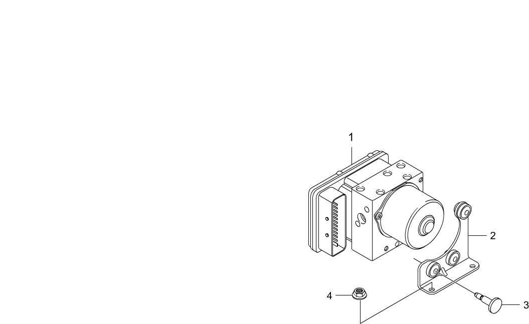 Kyron Chassis 4892 Hydraulic Modulatorhecu