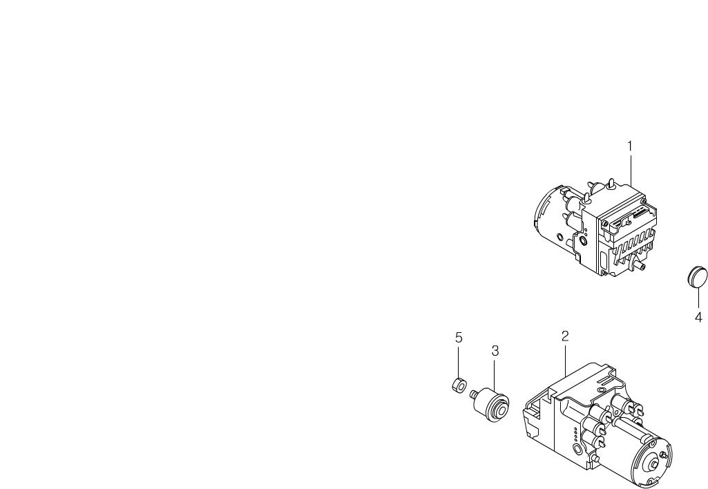 Korando Chassis 4891 Hydraulic Modulator
