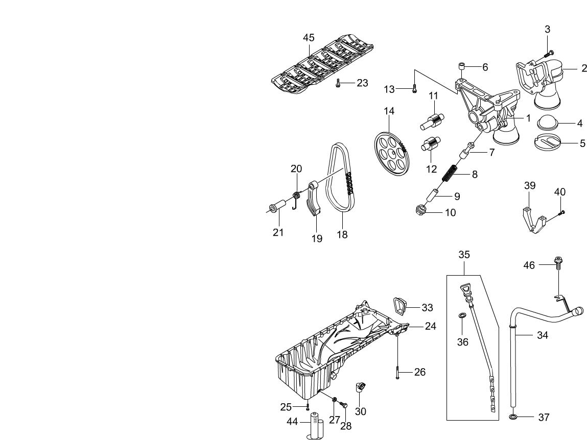 Chairman W Engine 1532 Oil Pan Pumpe32e36 E36 Diagram Parts