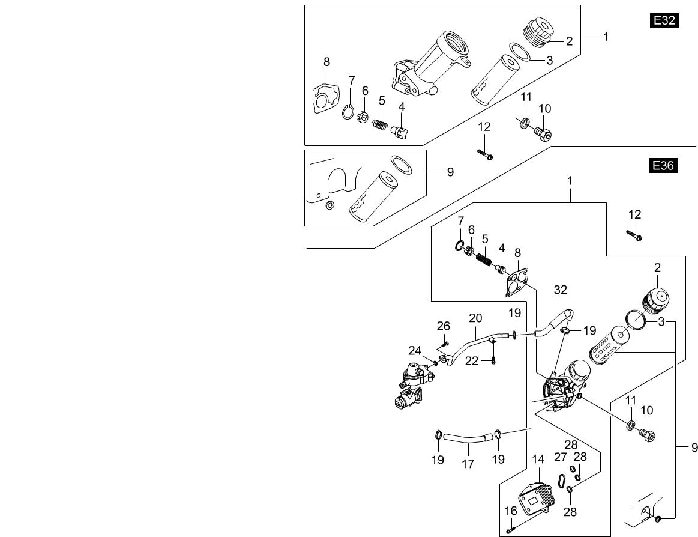 Chairman W Engine 1542 Oil Filtere32e36 E32 Wiring Diagram Parts