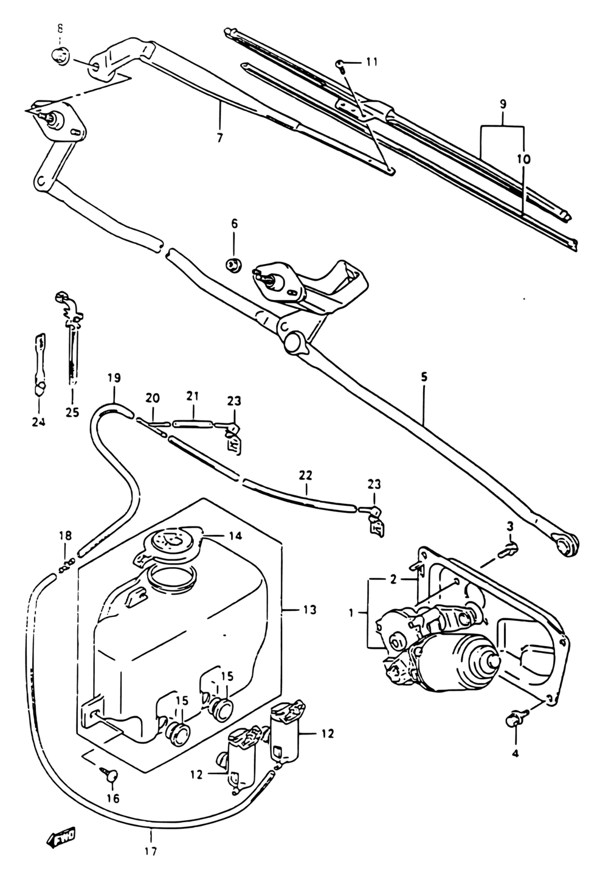 Fuel Tank For Sidekick 97-98