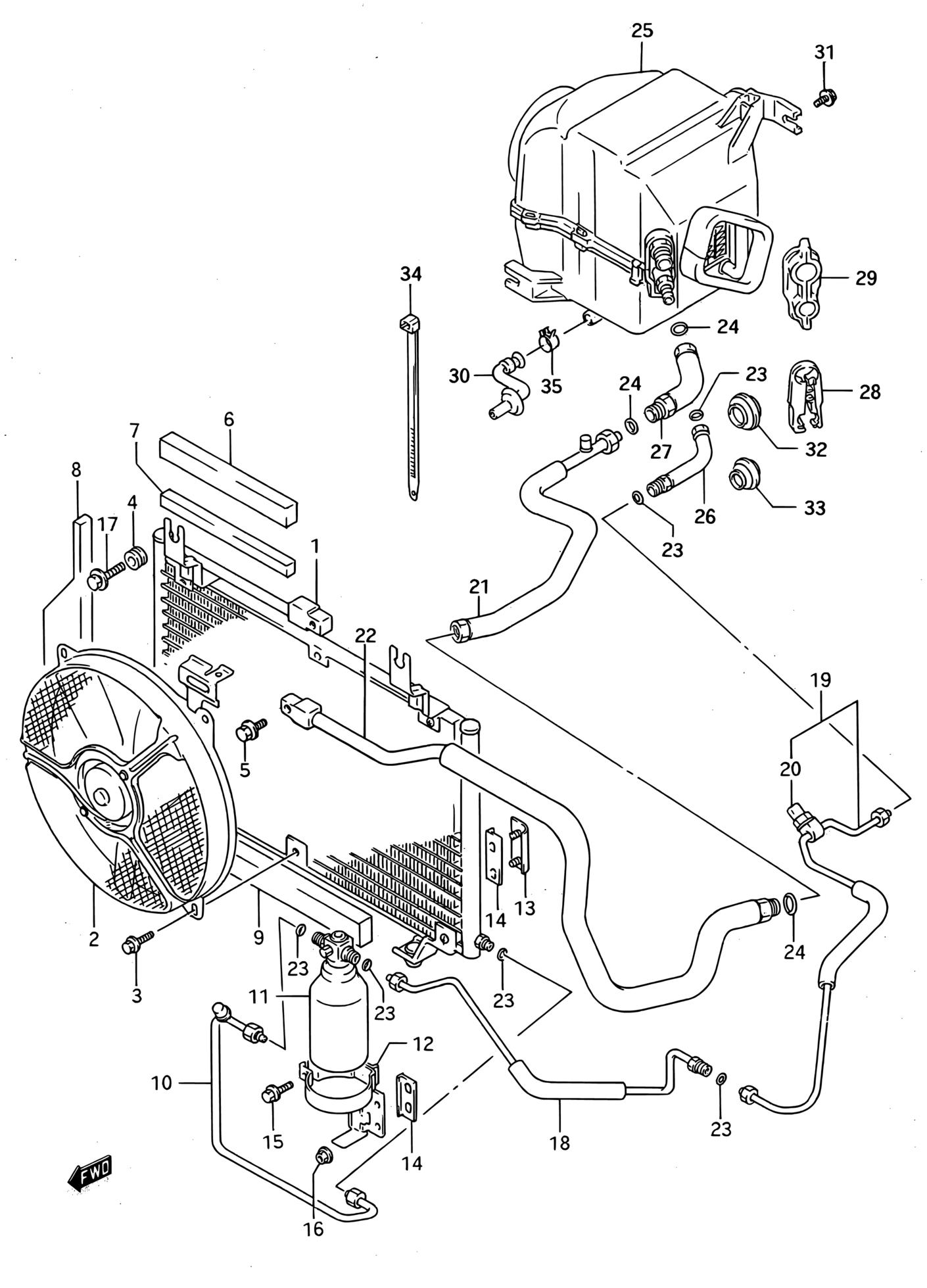 Latin America, Swift, SF416-2 (E01), Air Conditioning, 184