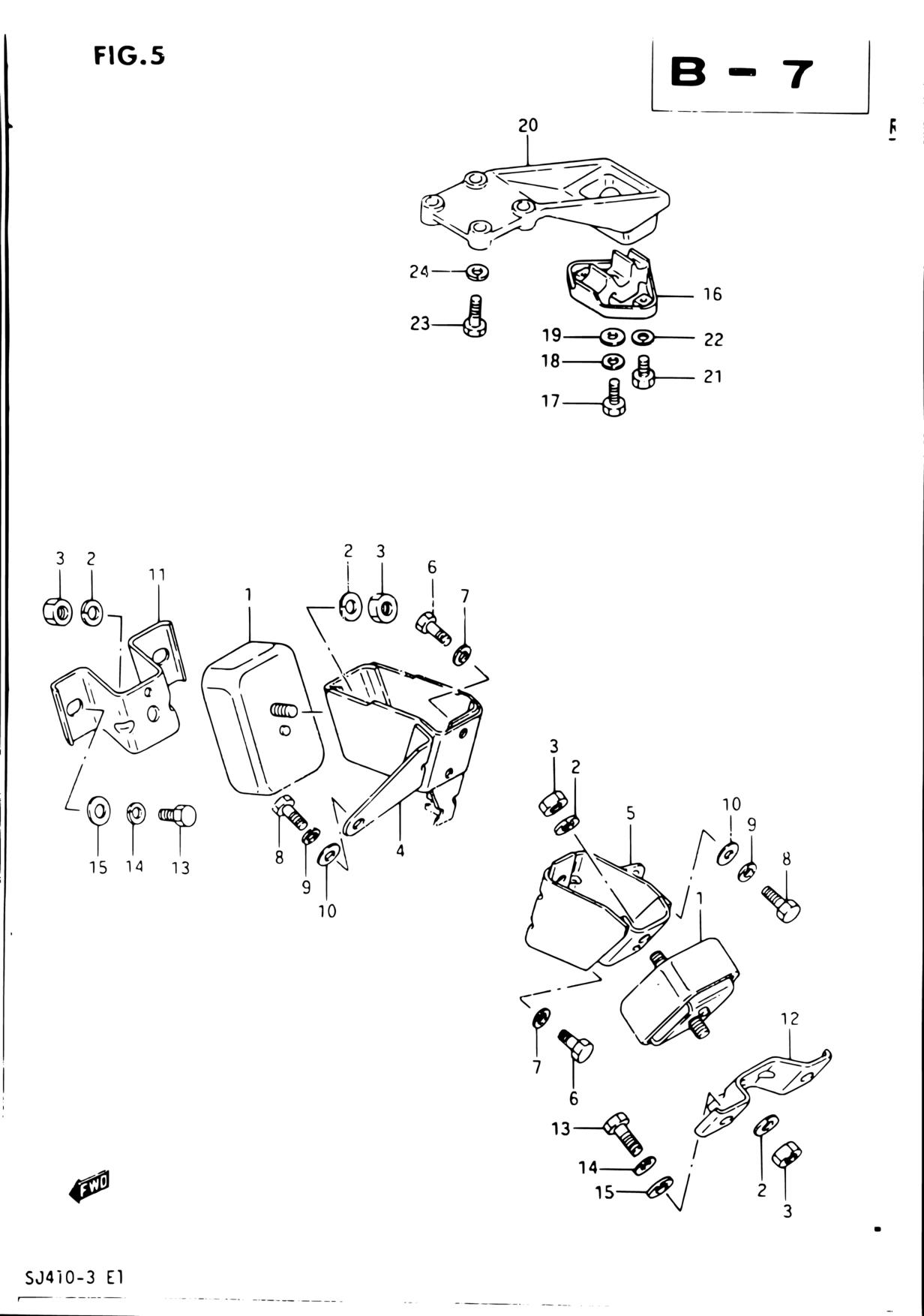 Middle East Samurai Sj Sj410q 3 E01 Engine 5 Cat 236 Diagram Parts