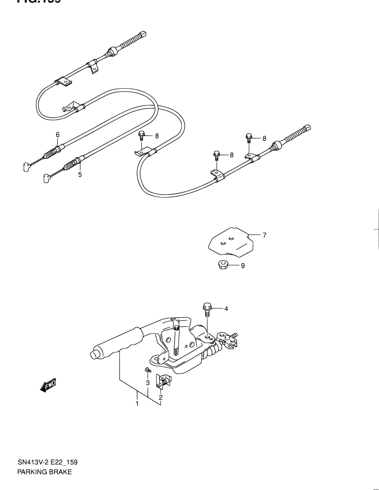 suzuki xl7 parking brake diagram radio wiring diagram u2022 rh augmently co Suzuki  XL7 Battery Location 2003 Suzuki XL7 Repair Manual