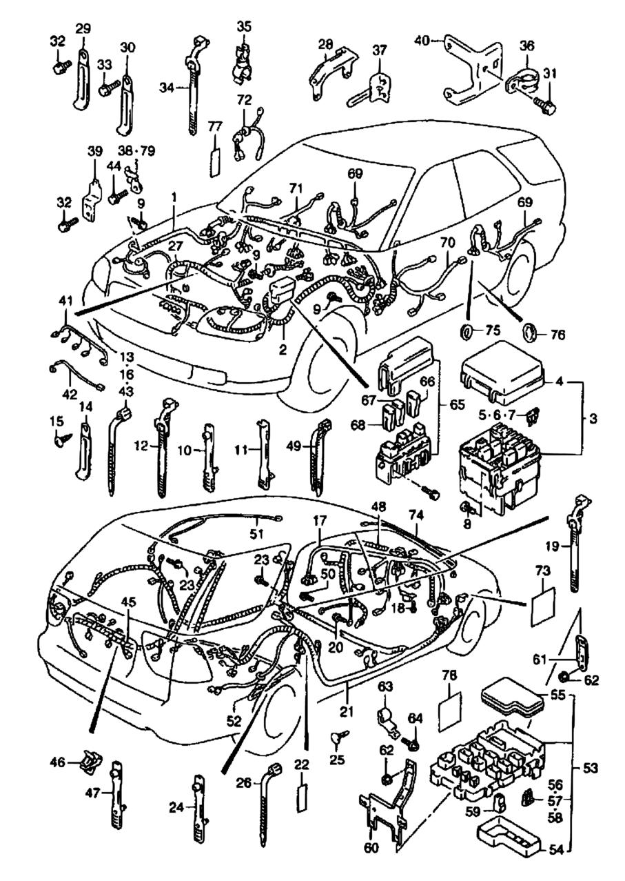 All Regions Baleno Esteem Sy418 E03e28e33e60my 2001 1996 Suzuki Under Dash Fuse Box Diagram Parts