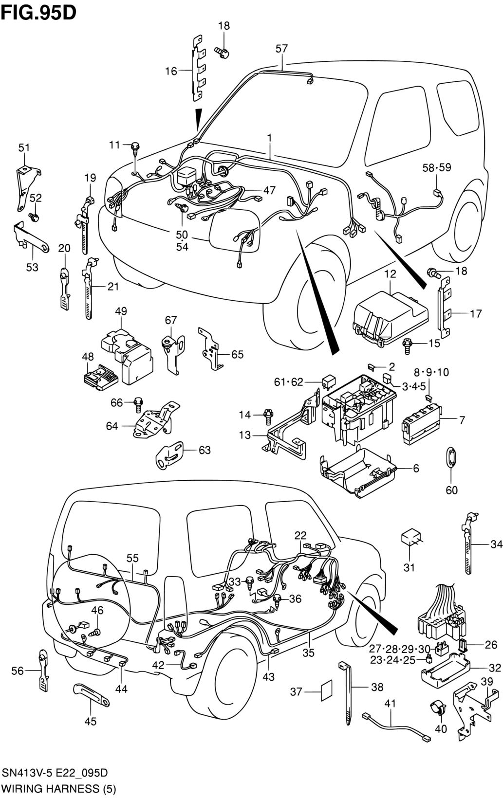Asia, Jimny, SN413V-9 (E02,E05,E06,E21,E22,E24,E38,E42,E90