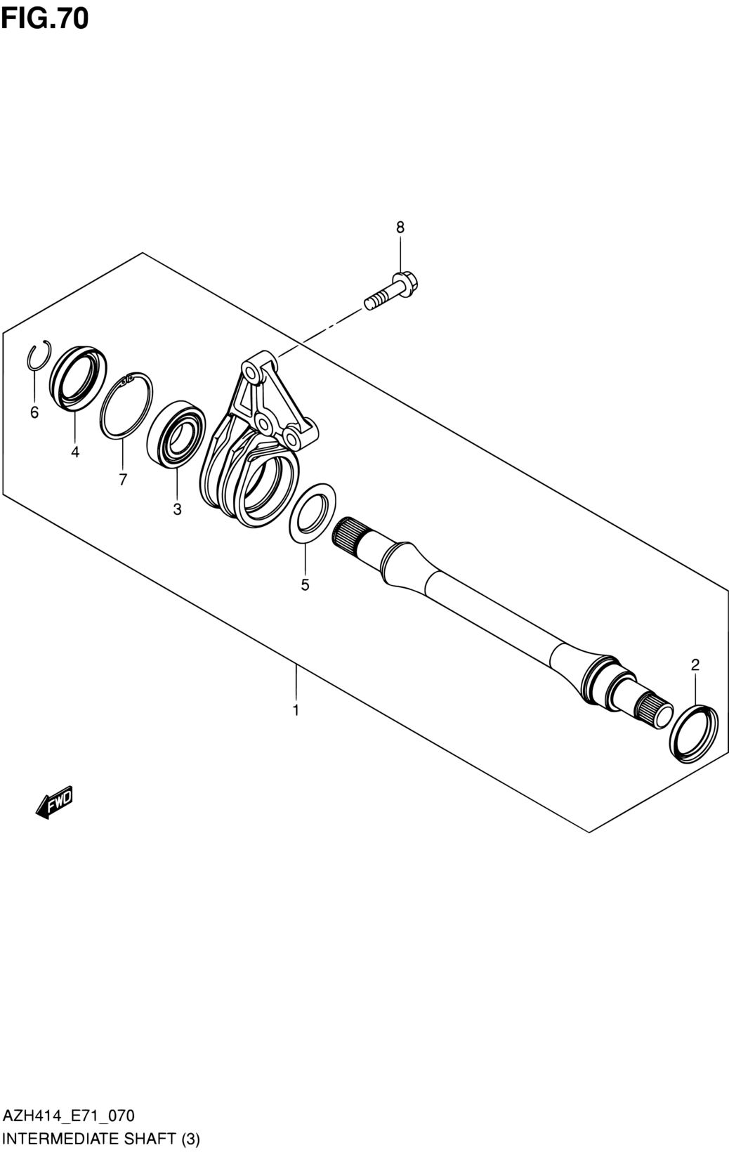 Enlace de arrastre FEBI tirante-extremo con Tuerca Castillo y Chaveta Solaris Irisbus 02546