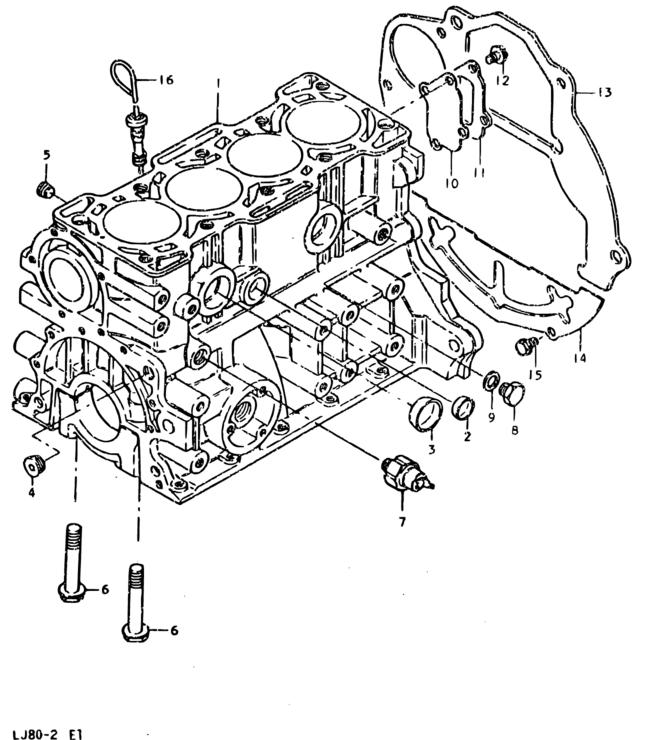 Middle East Lj80 Lj81k 2lj81p 2 Engine 2