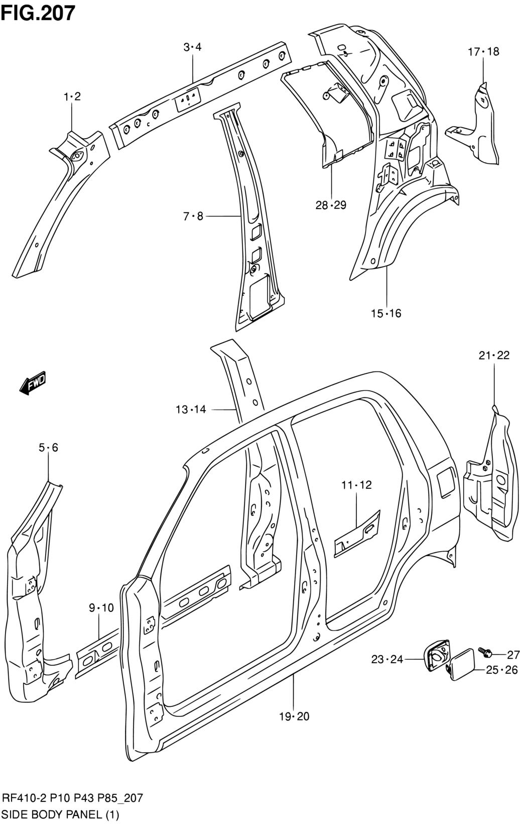 0287ET ETA original parts 11-1//2 2770 ref 182 20.030 barrel with cover N.O.S.