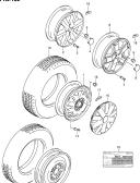 102 - ROAD WHEEL/TIRE