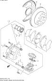 124 - FRONT WHEEL BRAKE (E02,E06,E11,E22,E24,E38,E54)
