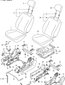 180A - FRONT SEAT (RHD:TYPE 3)