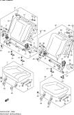183A - REAR SEAT (TYPE 3:5DR:N/ARMREST:REAR CENTER SEAT BELT 2 POINTS)