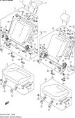 183B - REAR SEAT (TYPE 3:5DR:N/ARMREST:REAR CENTER SEAT BELT 3 POINTS)