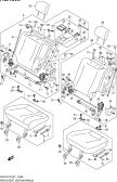 184A - REAR SEAT (TYPE 3:5DR:W/ARMREST)