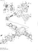 114 - REAR DIFF GEAR (4WD)