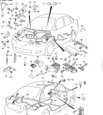 136 - WIRING HARNESS (4DR:LHD)