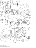 138 - WIRING HARNESS (5DR:LHD)