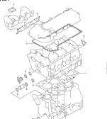 1 - ENGINE GASKET SET (GASOLINE)