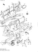 218 - INSTRUMENT PANEL (LHD:E01,E10,E22,E38,E54 AND E43)