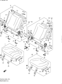273 - REAR SEAT (5DR:N/ARMREST:REAR CENTER SEAT BELT 2 POINTS)