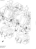 275 - REAR SEAT (5DR:W/ARMREST)