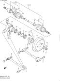 126 - REAR AXLE (4WD)