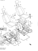 215 - FRONT SEAT (RHD)