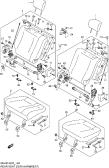 148 - REAR SEAT (5DR:N/ARMREST)