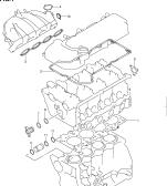 1 - ENGINE GASKET SET (RM413,RM415)