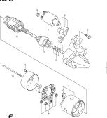 124 - STARTING MOTOR (GASOLINE:MARK:31100-86G0)