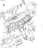 207 - INSTRUMENT PANEL (LHD)