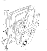 238 - REAR DOOR PANEL (5DR)