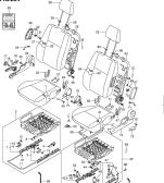 254 - FRONT SEAT (3DR:RHD:GL,GLX)