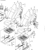 255 - FRONT SEAT (3DR:RHD:SPORT)