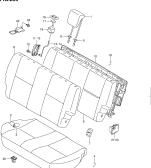 259 - REAR SEAT (3DR:GA)