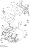 262 - LH REAR SEAT (GL,GLX)