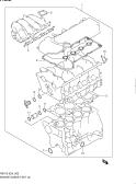 2 - ENGINE GASKET SET (RS416)