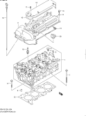 4 - CYLINDER HEAD (RS413:E35,RS415)