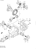 80 - REAR DIFF GEAR (4WD)