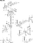 147 - MT GEAR SHIFT FORK (5MT:(RW415,RW416))
