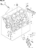 14 - CYLINDER (TYPE 1,2:RW415,RW416)