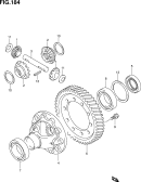 184 - FRONT DIFFERENTIAL GEAR