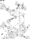 189 - REAR DIFFERENTIAL GEAR (4WD)