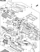 326 - HEATER UNIT (RHD:AUTO AIR CON)