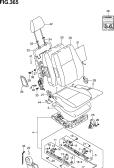 365 - FRONT RH SEAT (GA:LHD)