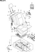 371 - FRONT LH SEAT (GL,GLX:LHD)