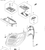 193 - REAR LAMP/ROOM LAMP (5DR:W/REAR FOG LAMP)