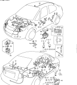 194 - WIRING HARNESS (TYPE 1,3:4DR:LHD)