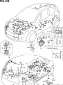 198 - WIRING HARNESS (TYPE 1,2,3:5DR:LHD)